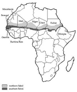 Localização do Deserto do Saara