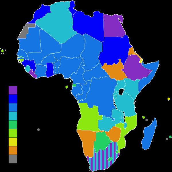 Descolonização do continente africano.