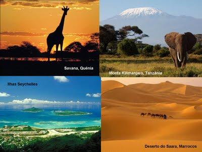 Diversidade de paisagens
